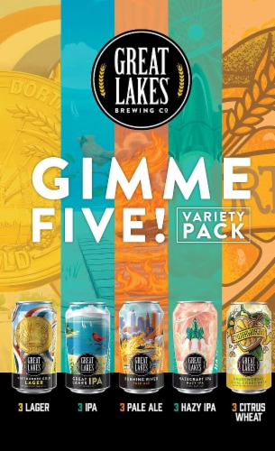 Great Lakes Brewing Co. Beer Variety Pack Perspective: left
