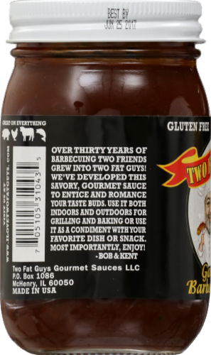 Two Fat Guys Smoky Bbq Sauce Perspective: left