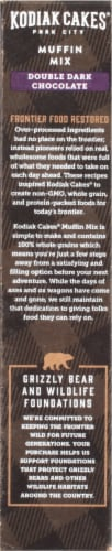 Kodiak Cakes Double Dark Chocolate Protein-Packed Muffin Mix Perspective: left