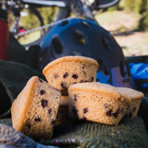 Kodiak Cakes Blueberry Protein-Packed Muffin Mix Perspective: left