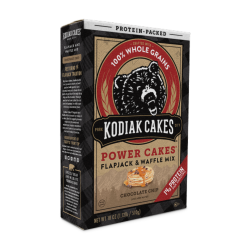 Kodiak Cakes Power Cakes Chocolate Chip Flapjack & Waffle Mix Perspective: left