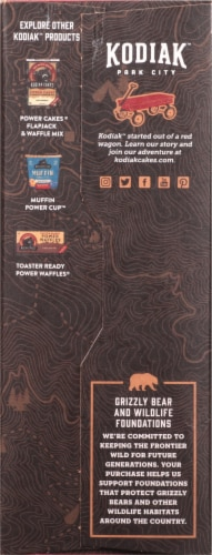 Kodiak Cakes Protein-Packed Cinnamon Oatmeal Packets Perspective: left