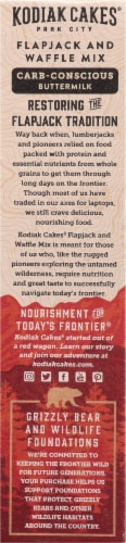Kodiak Cakes Protein-Packed Carb-Conscious Flapjack & Waffle Mix Perspective: left