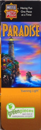 Master Pieces Paradise 500-Piece Puzzle Perspective: left