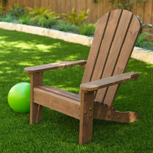 KidKraft Children's Adirondack Chair - Espresso Perspective: left