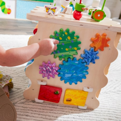 KidKraft World of Eric Carle™ Very Busy Activity Cube Perspective: left