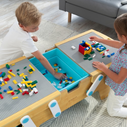 KidKraft Building Bricks Play N Store Table Perspective: left