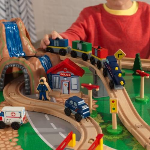 KidKraft Waterfall Mountain Train Set & Table Perspective: left