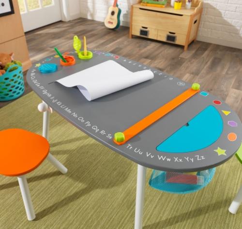 KidKraft Chalkboard Art Table with Stools Perspective: left