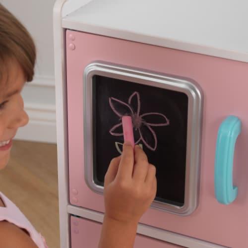 KidKraft Uptown Pastel Play Kitchen Perspective: left