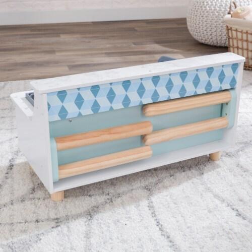 KidKraft Play & Put Away Wooden Kitchen Perspective: left