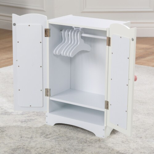 KidKraft Lil' Doll Armoire Perspective: left