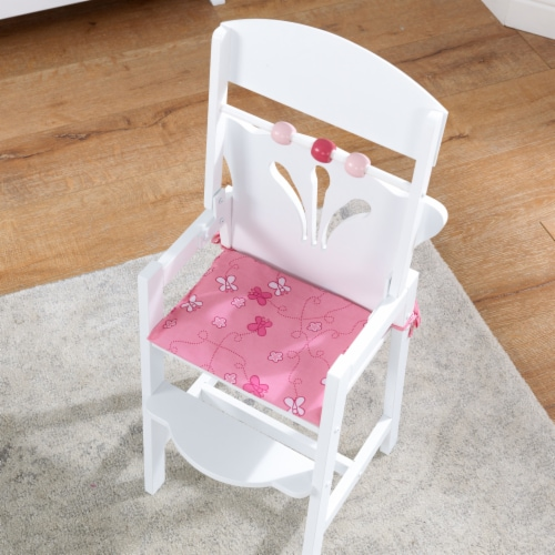 KidKraft Lil' Doll High Chair Perspective: left