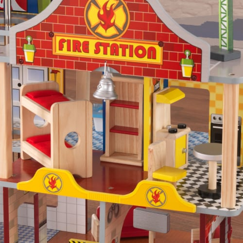 KidKraft Deluxe Fire Rescue Set Perspective: left