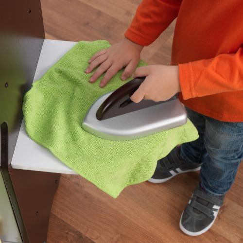KidKraft Laundry Playset - Espresso Perspective: left
