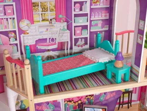KidKraft 18-Inch Dollhouse Doll Manor Perspective: left