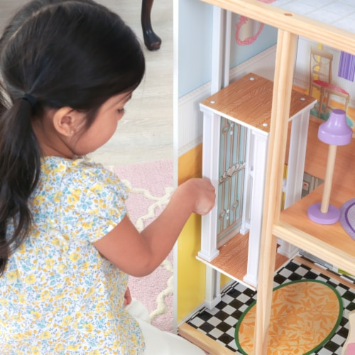KidKraft Kaylee Dollhouse Perspective: left