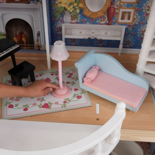 KidKraft Magnolia Mansion Dollhouse Perspective: left