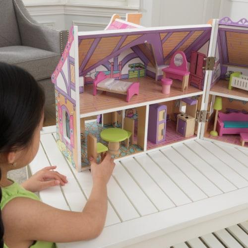 KidKraft Enchanted Forest Dollhouse Perspective: left