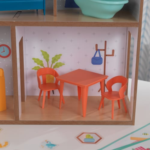 KidKraft Designed by Me™: Sticker Fun House Perspective: left