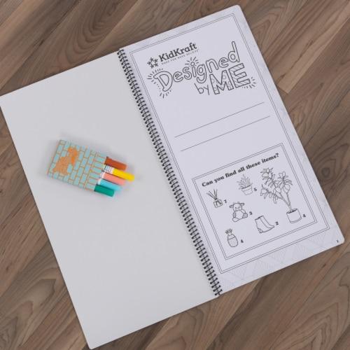 KidKraft Designed by Me™:Color Decor Dollhouse Perspective: left