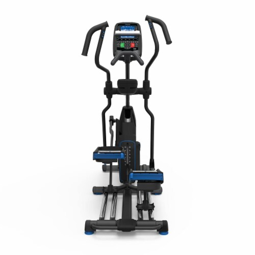Nautilus E618 Performance Series Home and Gym Workout Cardio Elliptical Trainer Perspective: left