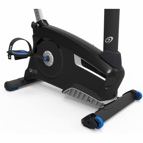 Nautilus U616 Performance Series Upright Home Gym Workout Cardio Exercise Bike Perspective: left
