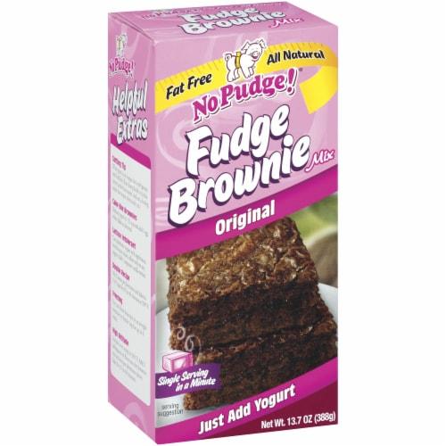 No Pudge Original Fudge Brownie Mix Perspective: left