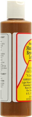 Maui Babe Browning Lotion Perspective: left
