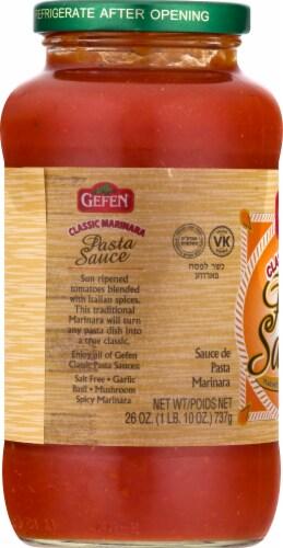 Gefen Classic Marinara Pasta Sauce Perspective: left