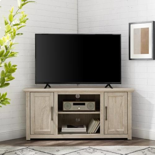 Crosley Camden Corner TV Set - Oak Finish Perspective: left