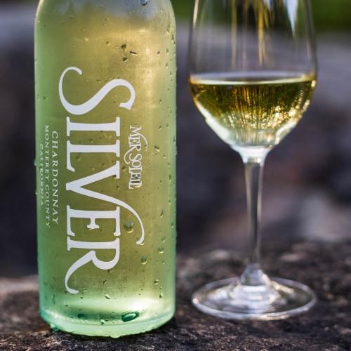 Mer Soleil Vineyard Silver Chardonnay White Wine Perspective: left