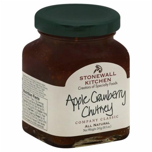 Stonewall Kitchen Apple Cranberry Chutney Perspective: left