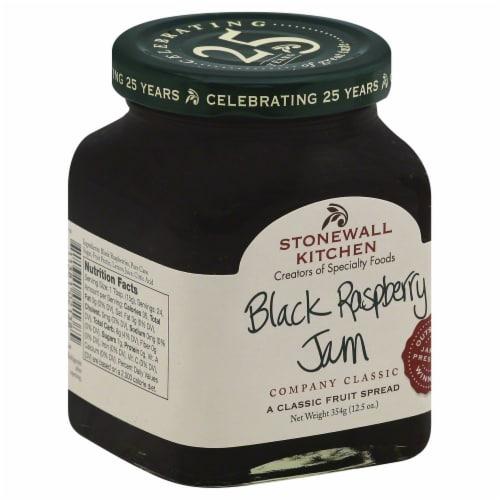 Stonewall Kitchen Black Raspberry Jam Perspective: left