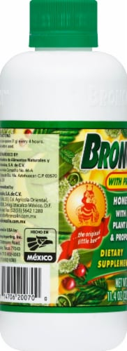 Broncolin Honey Syrup with Propolis Dietary Supplement Perspective: left