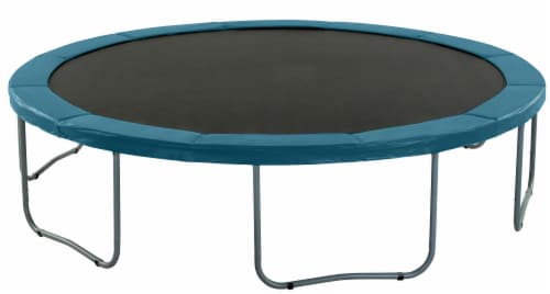 Trampoline Replacement Safety Pad Fits for 16 FT. Round Frames - Aqua Perspective: left