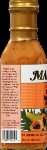 Margie's Papaya Poppy Seed Dressing Perspective: left