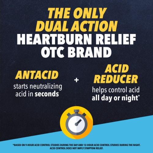 Pepcid Complete Acid Reducer + Antacid Berry Flavor Chewable Tablets Perspective: left