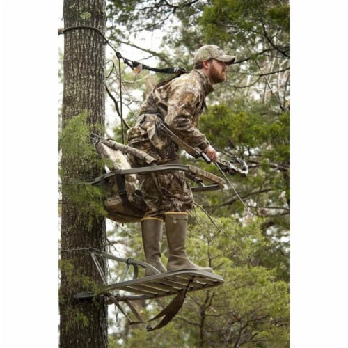 Summit Titan SD Self Climbing Portable Treestand Bow & Rifle Deer Hunting 81118 Perspective: left