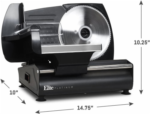 Elite by Maxi-Matic Electric Deli Food Meat Slicer Perspective: left