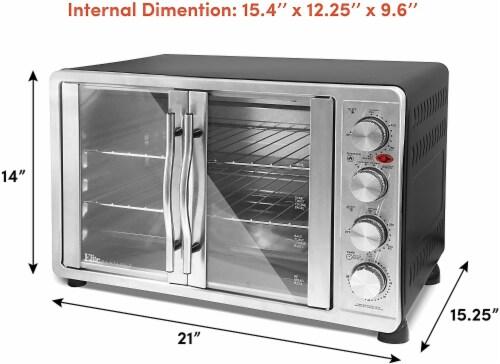 Elite by Maxi-Matic Double Door Oven Perspective: left