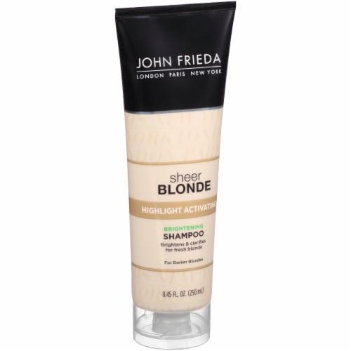 John Frieda Sheer Blonde Highlight Activating Enhancing Shampoo For Darker Blondes 8.45 oz Perspective: left