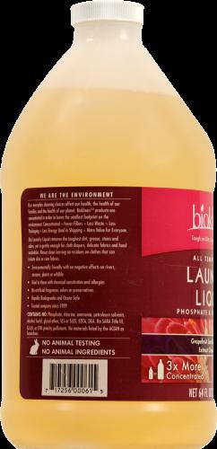 Biokleen Lavender Eucalyptus Liquid Laundry Detergent Perspective: left