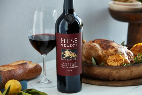 Hess Select North Coast Cabernet Sauvignon Red Wine Perspective: left