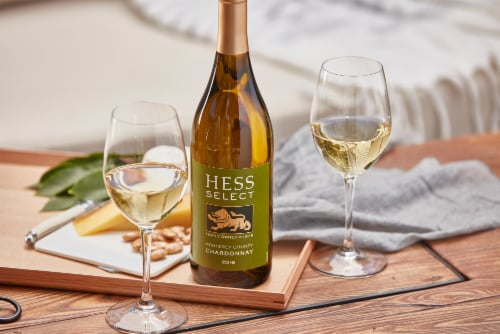 Hess Select Chardonnay White Wine Perspective: left