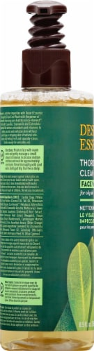 Desert Essence Organics Thoroughly Clean Face Wash Perspective: left