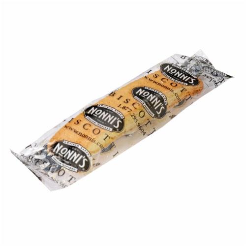 Nonni's Limone Biscotti 8 Count Perspective: left
