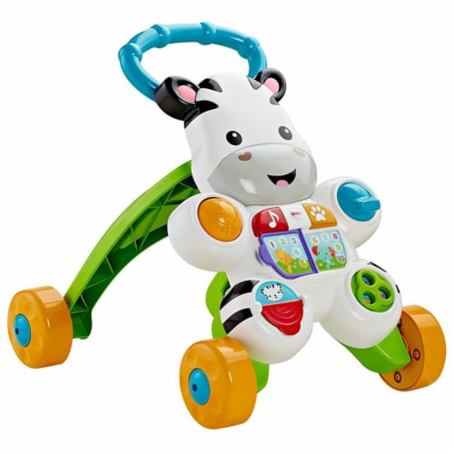 Fisher Price Learn with Me Zebra Walker Perspective: left