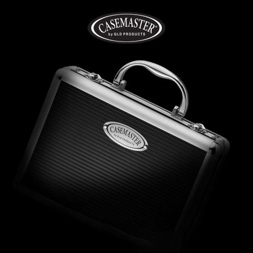 Casemaster Legion Extra Large Aluminum Ultra Premium 9 Dart Storage Case, Black Perspective: left