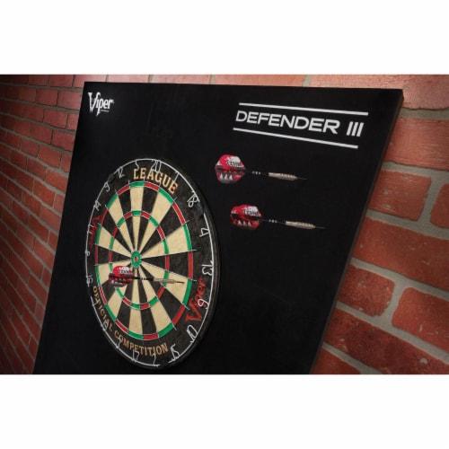 Viper Defender III Steel Tip Dart Wall Protector Backboard Backing Surround Perspective: left